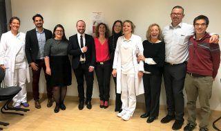 Participantes del 1er Simposium de Cirugía Plástica y Ginecología del Hospital Erding en Munich (Alemania).