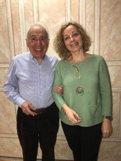 El Dr. Riccardo Mazzola con la Dra. Patricia Gutiérrez (Austria, marzo 2018).